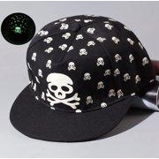 Luminous Hip-Hop Baseball Cap Glow In The Dark Night Green Light TFBOYS  Color  33292c4b4c75