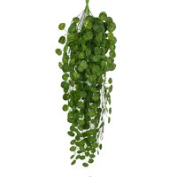 Womail Artificial Fake Hanging Vine Plant Leaves Garland Home Garden Wall Decoration