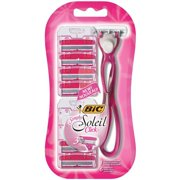 BIC Simply Soleil Click Disposable Razor, Women, 6-Count
