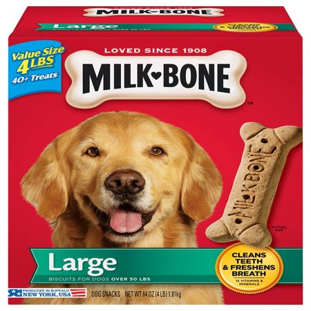 Milk-Bone Original Large Dog Biscuits, 4 Lb.