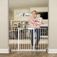Regalo Extra Tall Widespan Baby Gate, 29''-49'' with Walk Through Door