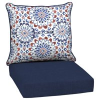 Arden Selections Clark 46.5 x 24 in. Outdoor Deep Seat Cushion Set