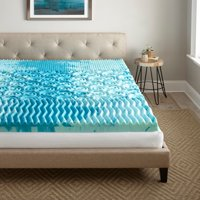 Broyhill 4 Inch Cooling GelLux Memory Foam Gel Mattress Topper