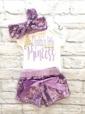 7aa7c0cea Baby Girls Outfit Sets - Walmart.com