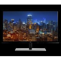 "AOC Monitor 28"" 4K UHD 3840x2160 Res Free-sync 1ms 300 cd/m2 Brightness VGA DVI-D HDMI (MHL) DisplayPort U2879VF"