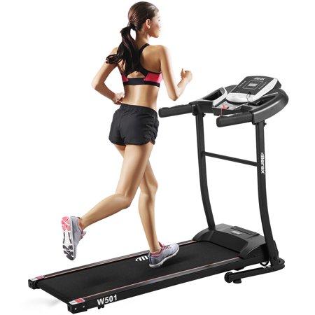 Merax W501 Classic Style Folding Electric Treadmill Home Gym Motorized Running -
