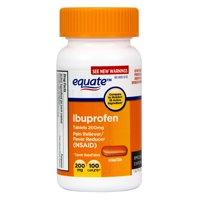 Equate Pain Relief Ibuprofen Tablets, 200 mg, 100 Count