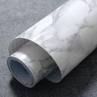 DIY Self Adhesive Marble Wallpaper Granite Texture Contact Sticker Wall Paper Big Sale