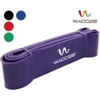 Wacces Resistance pull up Bands & Crossfit & Pull-Up Loop Body Bands & Power-Lifting Jump Band Training Set ( 60 - 150 lb - Strong)