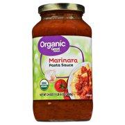 (6 Pack) Great Value Organic Marinara Pasta Sauce, 23.5 oz