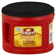 Folgers Breakfast Blend Smooth and Mellow Mild Ground Coffee, 25.4 oz