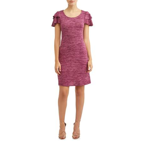 Women's Ruffled Sleeve Midi Dress - Pocahontas Dress