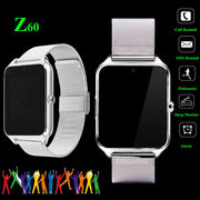 Z60 Bluetooth Smart Watch Phone SIM GSM For Android IOS Samsung iPhone HTC