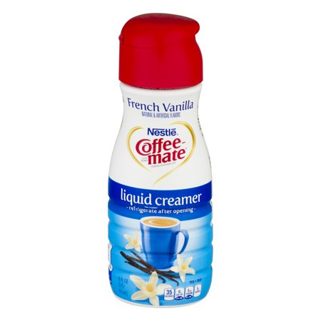 (3 Pack) COFFEE-MATE French Vanilla Liquid Coffee Creamer 16 fl. oz. Bottle