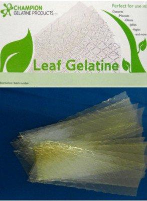 Gelatine Sheets (Leaves Of Gelatine Conversion To Powdered Gelatin)
