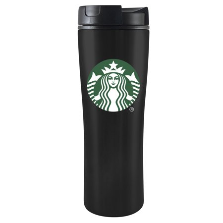 - Starbucks 16 Ounce Black Vacuum Tumbler with Lid