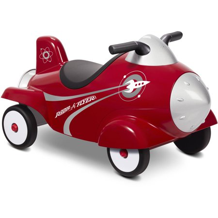 Radio Flyer Retro Rocket With Lights & Sounds Ride-On American Flyer Toy Trains