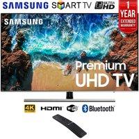 "Samsung UN49NU8000 49"" NU8000 Smart 4K UHD TV (2018 Model) + 1 Year Extended Warranty UN49NU8000 49NU8000"