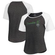 b298dfd4880 Seattle Sounders FC Fanatics Branded Women s Rising Script Raglan Tri-Blend  T-Shirt -