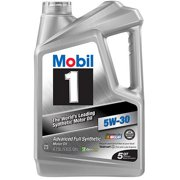 Mobil 1 Advanced Full Synthetic Motor Oil 5W-30, 5 qt.
