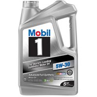 Mobil 1 5W-30 Full Synthetic Motor Oil, 5 qt.