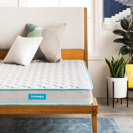 Latex Pillow Top Innerspring Mattress - Linenspa 6