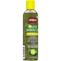 African Pride Olive Miracle Anti-Breakage Formula Maximum Strengthening Growth Oil 8 fl. oz. Bottle