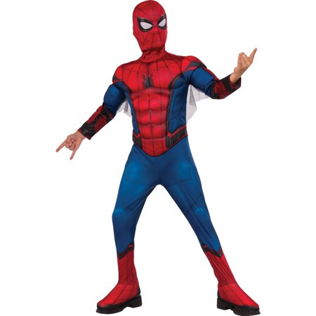 Spider-Man Homecoming - Spider-Man Child Costume - Black Spiderman Costume Child