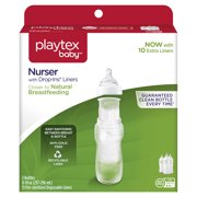 Playtex Baby Nurser With Drop-Ins Liners 8oz Baby Bottle 3-Pack