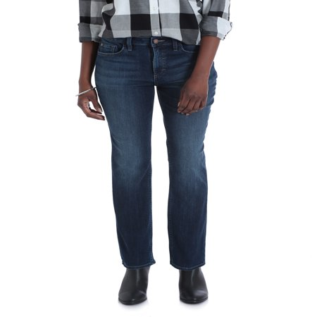 Lee Riders Women's Midrise Straight Jean ()