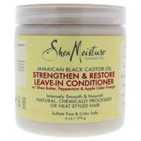 Shea Moisture Jamaican Black Castor Oil Strengthen and Restore Leave-In Conditioner - 6 oz Conditioner