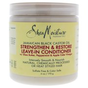 Shea Moisture Jamaican Black Castor Oil Strengthen and Restore Leave-In Conditioner - 6 oz Conditioner