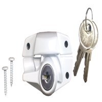 Ultra Hardware 46017 White Sash Window Lock