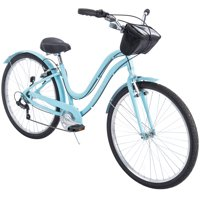 """Huffy 27.5"""" Parkside Women's 7-Speed Comfort Bike with Aluminum Frame"""