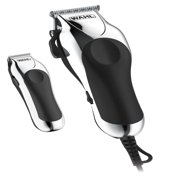 Wahl Deluxe Chrome Pro Home Haircutting Kit, Clipper and Trimmer 79524-5201