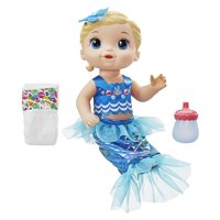 Baby Alive Shimmer n Splash Mermaid, Blonde Hair, Ages 3 and up