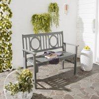 Safavieh Piedmont Indoor/Outdoor Modern Folding Acacia Bench