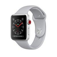 Refurbished Apple Watch - Series 3 - 42mm - Silver Aluminum Case - Fog Sport Band