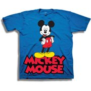 293f4e070 Disney Mickey Mouse Classic Boys' Juvy Short Sleeve Graphic Tee T-Shirt