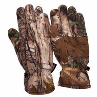 Realtree Xtra Men's Insulated Fleece Gloves