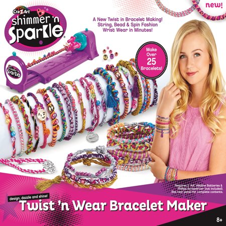 Cra-Z-Art SNS Twist N Wear Bracelet Maker](Friendship Bracelet Maker)