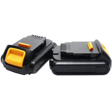 2-Pack - DeWALT DCHJ062C1 Battery Replacement - For DeWALT 20V MAX* Power Tool Battery (1500mAh, Lithium-Ion)