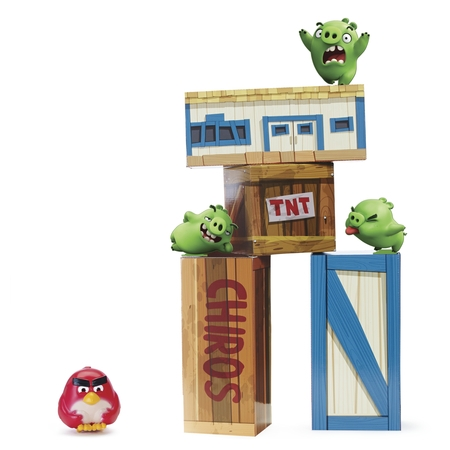 Angry Birds - Vinyl Knockout Playset](Angry Birds Go Halloween Update)