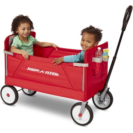 Radio Flyer 3-in-1 EZ Fold Wag...