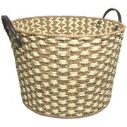 Betters Homes & Gardens Large Seagrass Basket, 2 Pack