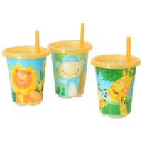 Evenflo Zoo Friends Convenience Sippy Cups - 10 Ounce - 3 Count