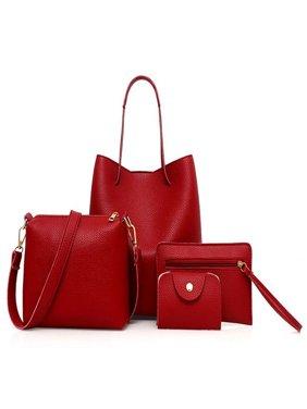 3pcs  Lady Women Handbag Shoulder Bags Tote Purse Messenger Satchel