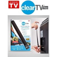 Top Clear TV Key HDTV FREE TV digita l Indoor Antenna Ditch Cable As Seen on TV