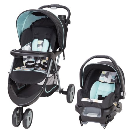 Baby Trend EZ Ride 35 Travel System-Doodle Dots