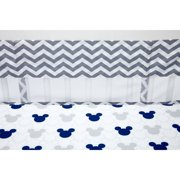536a1d83edc Disney Mickey Mouse Let s Go II Secure-Me Crib Liner